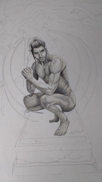 Gargoyle, work in progress